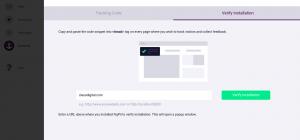 FigPii tracking code verification