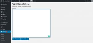 Wordpigeon API key
