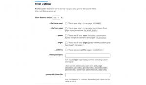 Beamer filters