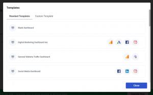 oviond dashboard templates