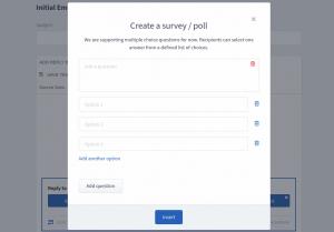 ReplyButton surveys