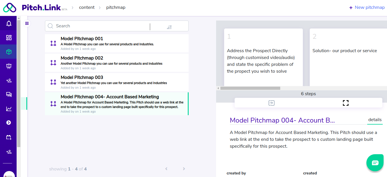 Pitch.Link templates