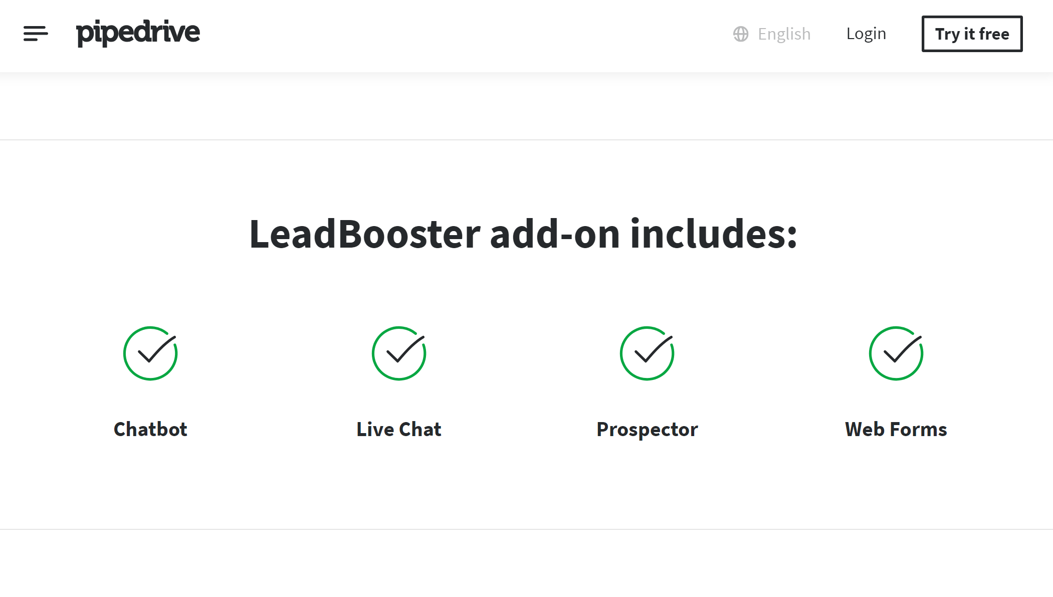 Intercom Alternative - Pipedrive LeadBooster