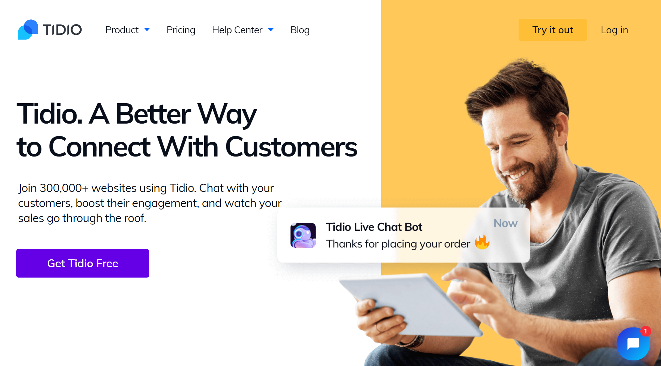 Intercom Alternative - Tidio