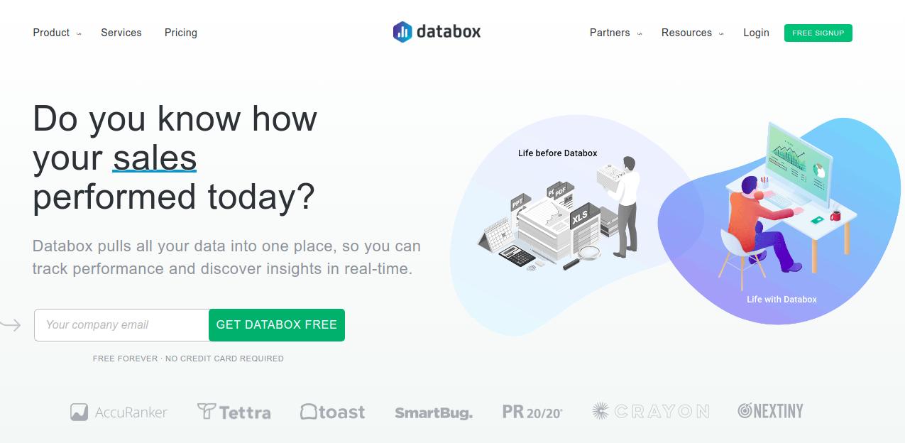 Supermetrics Alternative - Databox