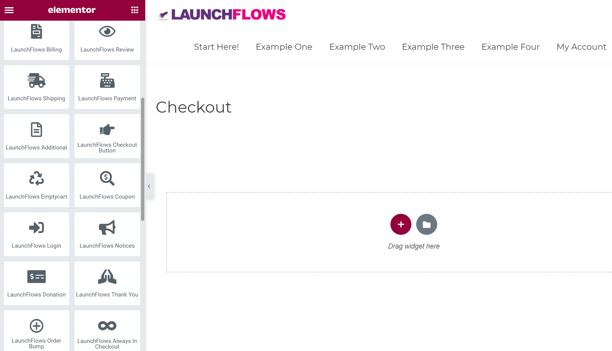 LaunchFlows - Elementor Widget